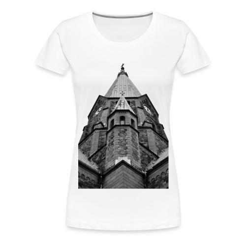 Kyrka - Premium-T-shirt dam