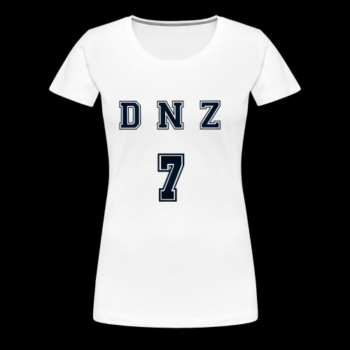 """DNZ"" COLLAGE STYLE - Premium-T-shirt dam"