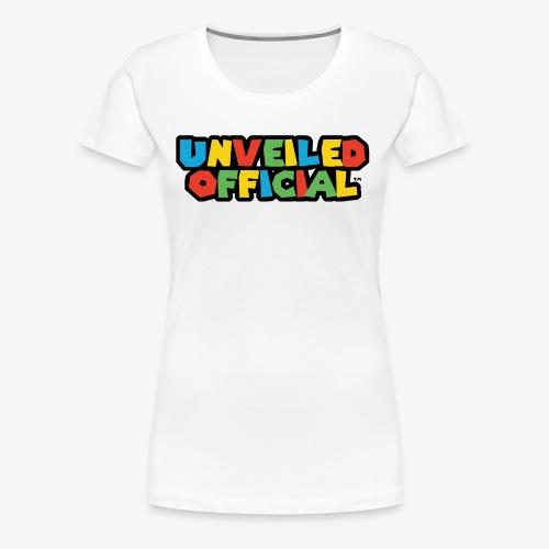 Unveiled Video Games Logo - Women's Premium T-Shirt