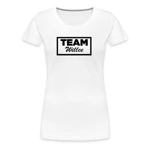 Willce merchandise Black - Premium-T-shirt dam