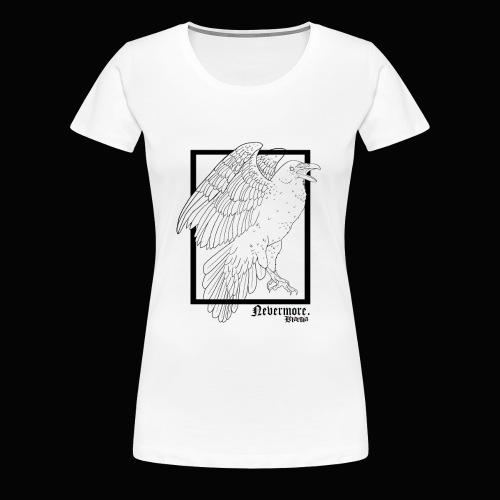Nevermore in Black - Camiseta premium mujer