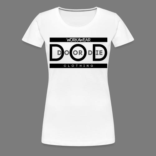 DoDLogo png - Frauen Premium T-Shirt