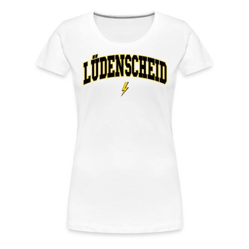 Luedenscheid - Frauen Premium T-Shirt
