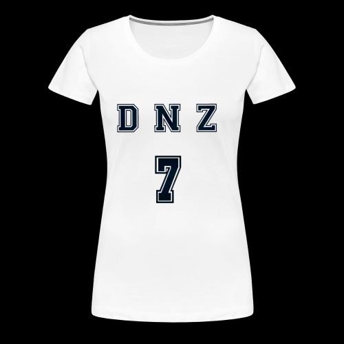 """""""DNZ"""" COLLAGE STYLE - Premium-T-shirt dam"""