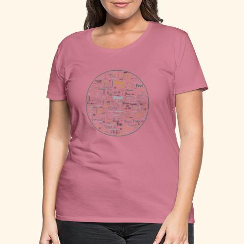 Ich bin - Frauen Premium T-Shirt