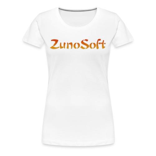 ZunoSoft Logo - Women's Premium T-Shirt