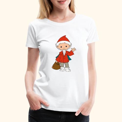 Sandmännchen winkt - Frauen Premium T-Shirt
