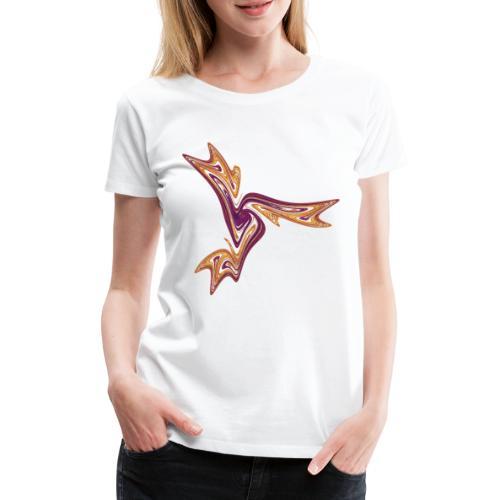 Seestern Seeigel Meerestiere Ozean Chaos 4054I - Frauen Premium T-Shirt