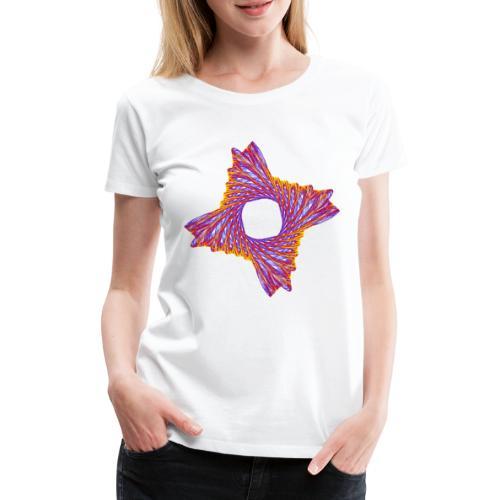 rotierendes Lebensfeuer 12162bry - Frauen Premium T-Shirt