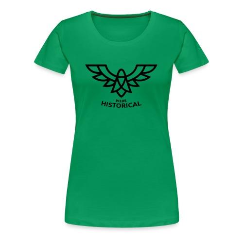 Text & Logo - Women's Premium T-Shirt