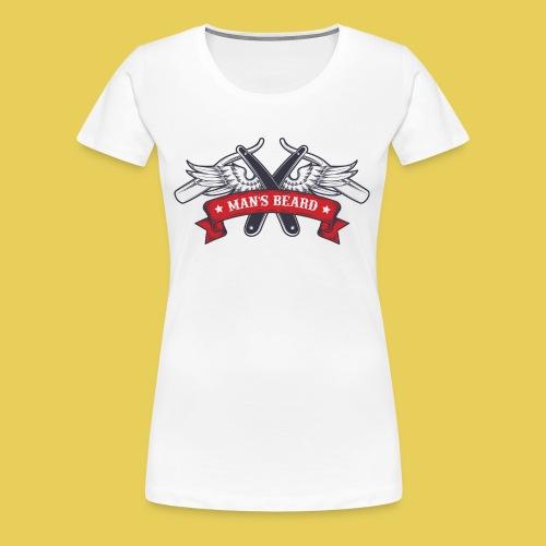 Angel Man's Beard - T-shirt Premium Femme