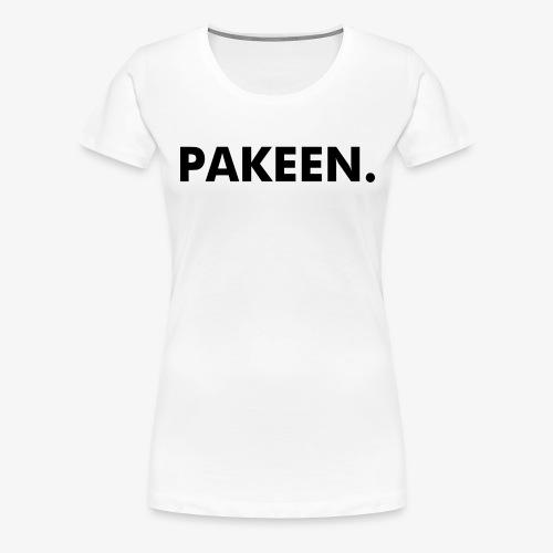 Pak Een Punt Horizontaal - Vrouwen Premium T-shirt