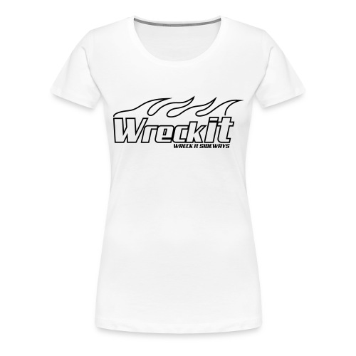 wreckit flames - Vrouwen Premium T-shirt