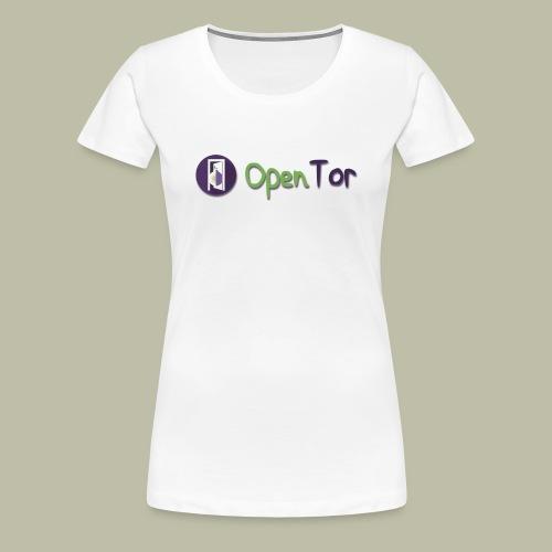 OpenTor Badge - Women's Premium T-Shirt