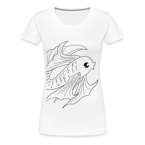 poisson 2bis - T-shirt Premium Femme