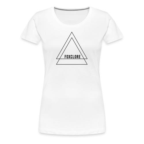 Triangle - Vrouwen Premium T-shirt