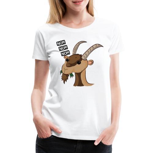 Lo stambecco puccioso - Maglietta Premium da donna