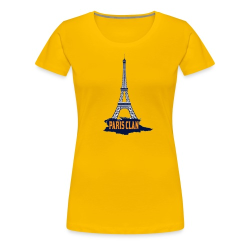Paris Eiffel - Women's Premium T-Shirt