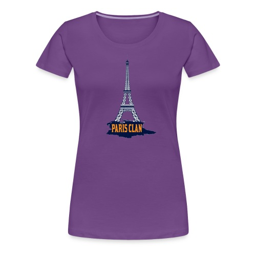 Paris Eiffel - Women's Premium T-Shirt