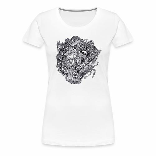 Crazy Duck - T-shirt Premium Femme
