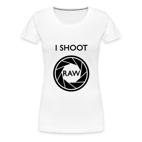 I SHOOT RAW Clothing - Frauen Premium T-Shirt
