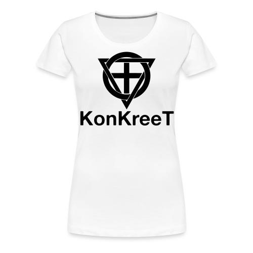 KonKreeT Logo 2016 (2) - Premium-T-shirt dam