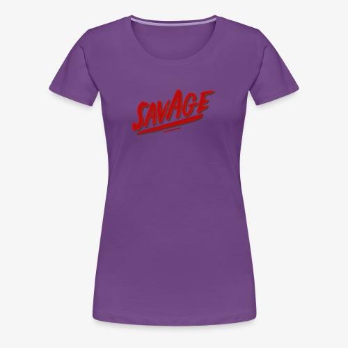 savagjonssongang - Premium-T-shirt dam