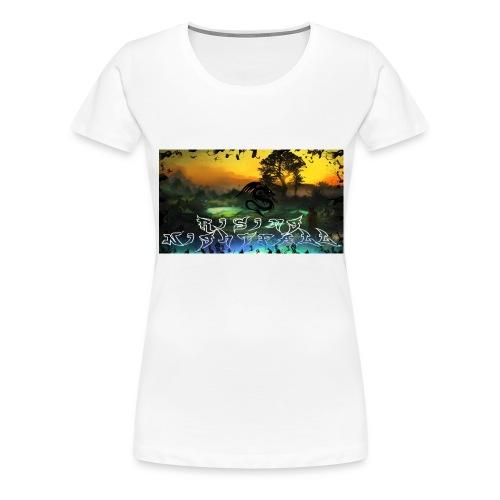 Layout für YouTube jpg - Frauen Premium T-Shirt