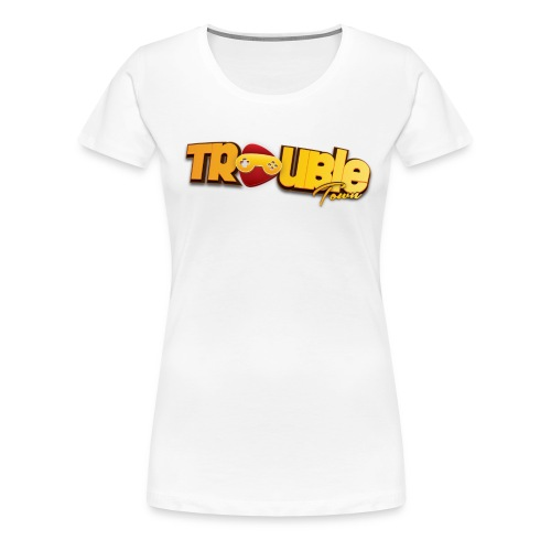 troubletown logo png - Frauen Premium T-Shirt