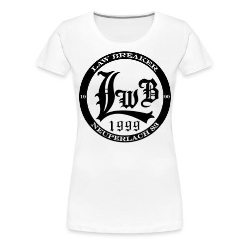 LawBreaker Street Collect - Frauen Premium T-Shirt