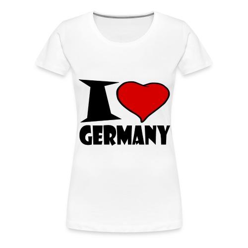 Ich Liebe Deutschland - Germany - Frauen Premium T-Shirt