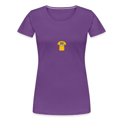 Castle design - Dame premium T-shirt