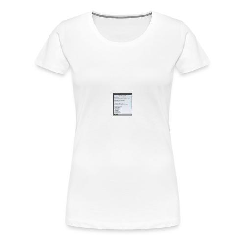 chap1 - Frauen Premium T-Shirt