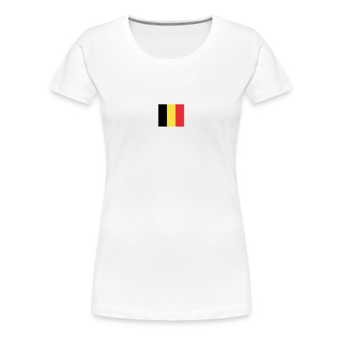 vlag be - Vrouwen Premium T-shirt