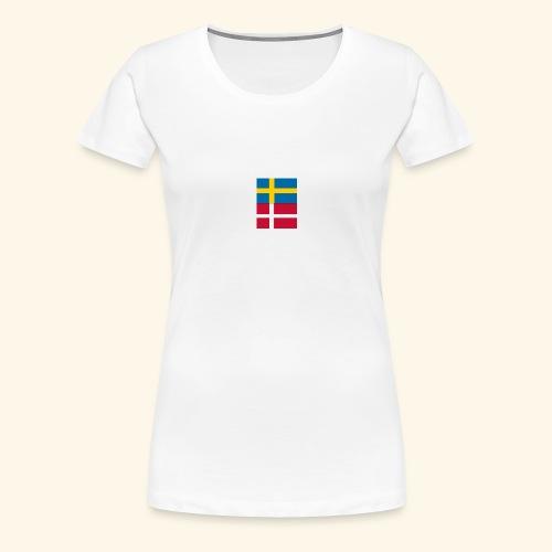 SWEDK png - Premium-T-shirt dam