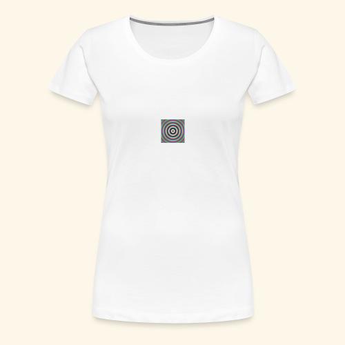 trouble color - T-shirt Premium Femme