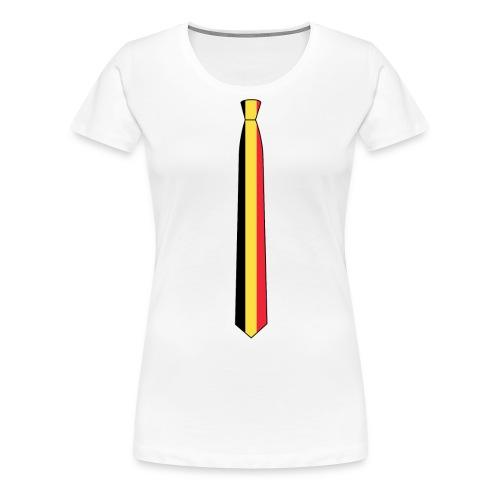EM Shirt Damen Belgien - Frauen Premium T-Shirt