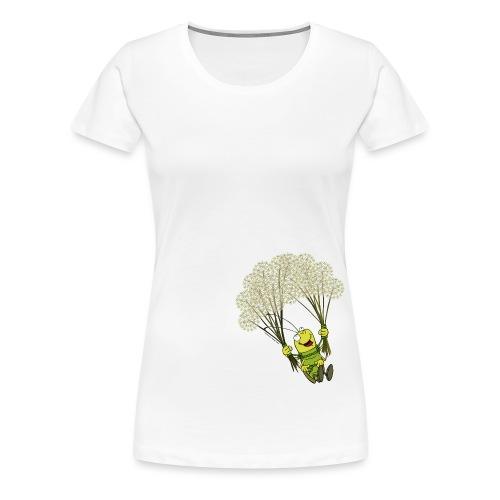 Männer T-Shirt - Georg der Flieger - Frauen Premium T-Shirt