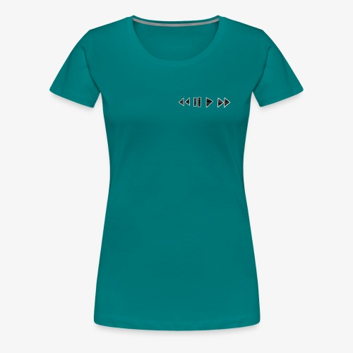 Music Tee - Vrouwen Premium T-shirt