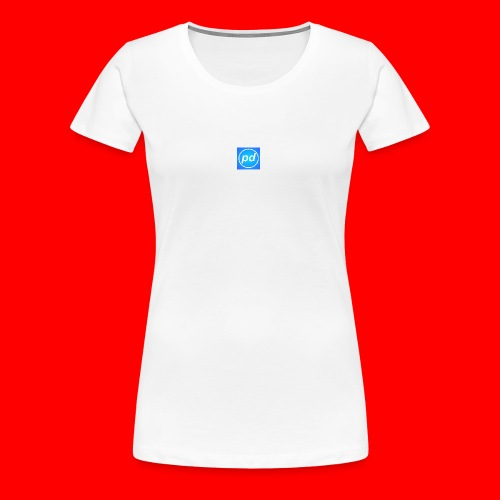 pd Blue V2 - Dame premium T-shirt