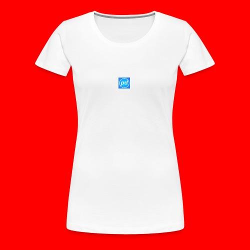 pd Blue V2 - Dame premium T-shirt