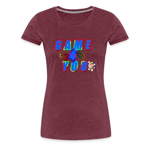 Game4You - Women's Premium T-Shirt