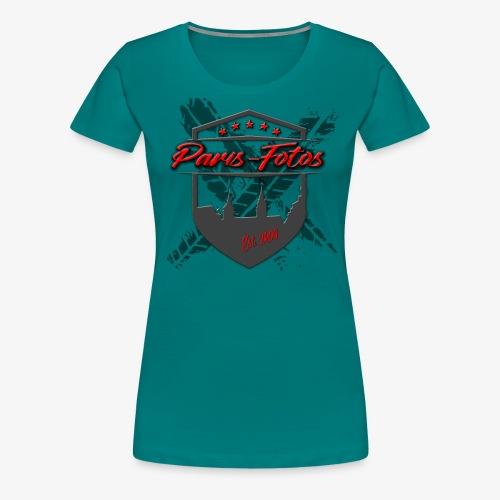 Paris Wappen - Frauen Premium T-Shirt