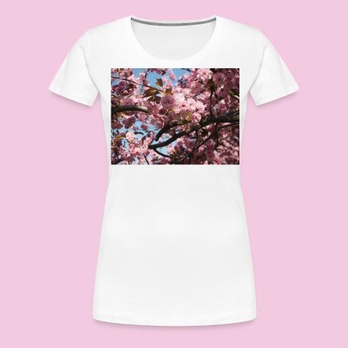 Japanische Kirschblütten - Frauen Premium T-Shirt