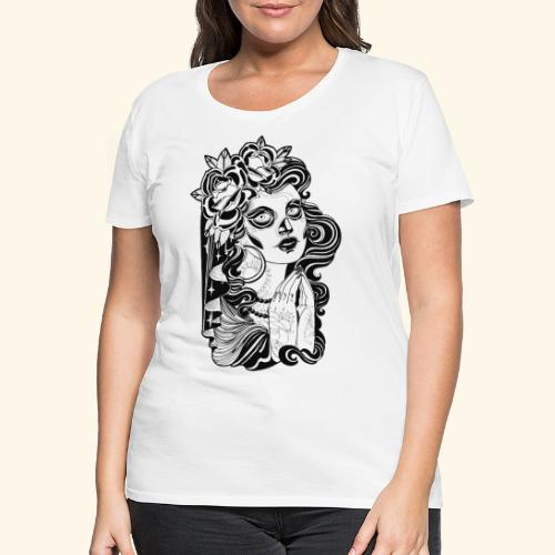 Catrina - Camiseta premium mujer