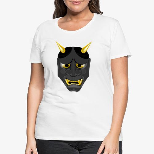 Demon Mask Black - Women's Premium T-Shirt
