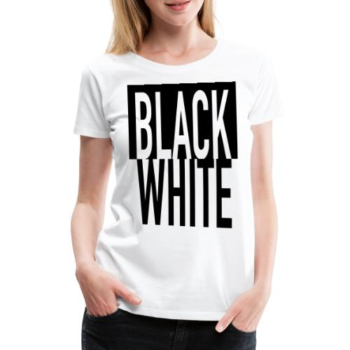 Black White - Frauen Premium T-Shirt