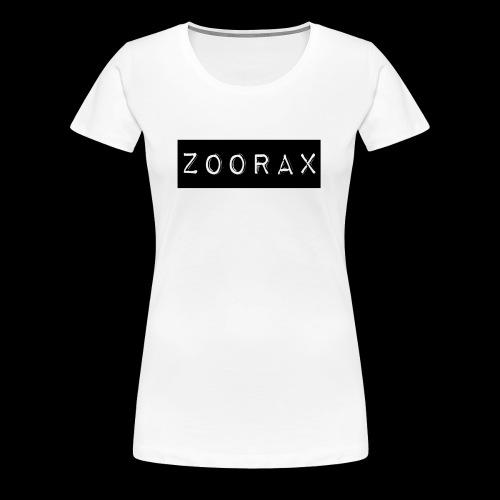 Zoorax black - Women's Premium T-Shirt