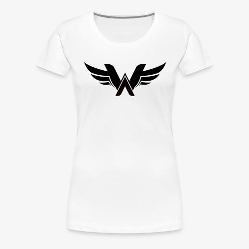 T-Shirt Logo Wellium - T-shirt Premium Femme
