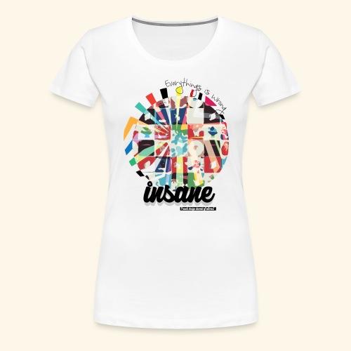 Wrong - T-shirt Premium Femme